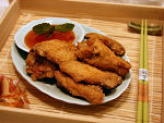 Golden Fried Chicken Wings